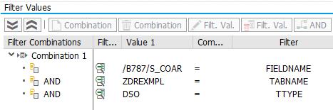 Filter values for Import BAdI