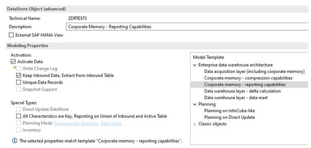 Corporate memory - reporting capabilities