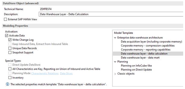 Data Warehouse Layer - delta calculation