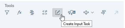 Create Input Task