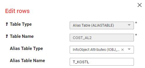 Setup Alias Table 2