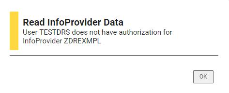 Error message DSO