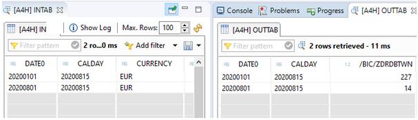 SQL Script Funktion days_between