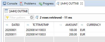 SQL Script Function UTC_TIMESTAMP