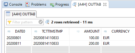 SQL Script Funktion UTC_TIMESTAMP