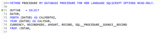 SQL Script Debugging