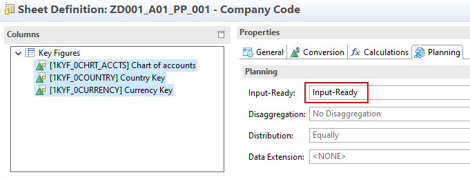 Input ready query