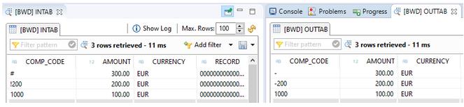 Auto correct records with SQL Script