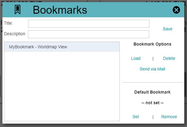 Bookmark PopUp