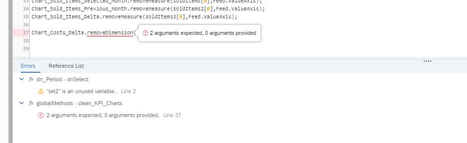 SAC Analytics Designer Debugger