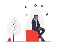 text mining_marketing_man sitting