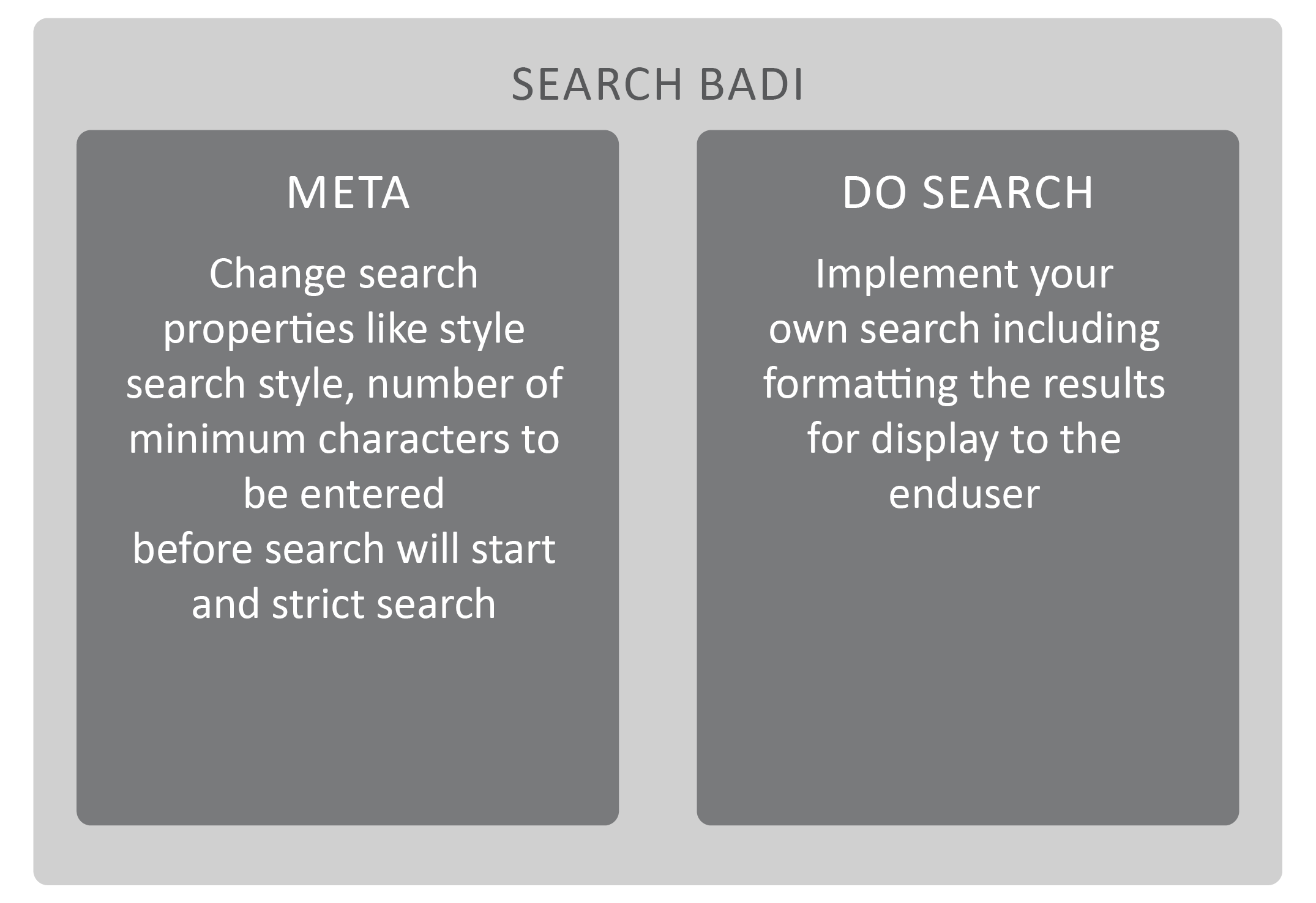 Search BAdI Overview