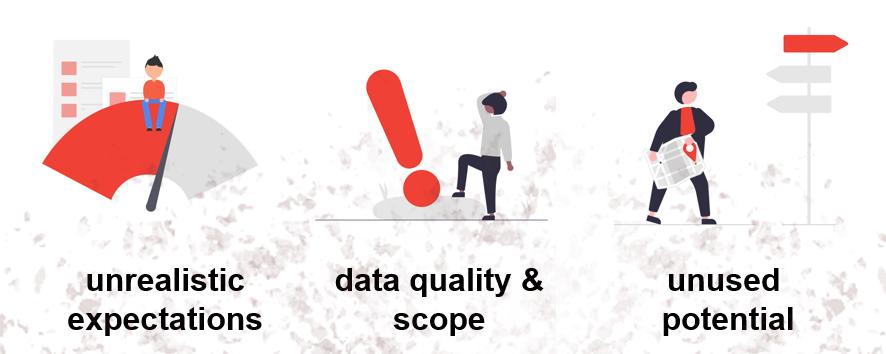 pitfalls machine learning project