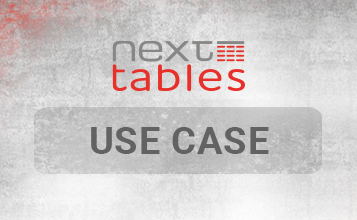 NextTables Use Case Eigene Buttons
