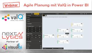 Agile Planung mit ValQ am Beispiel Power BI Webinar von NextLytics